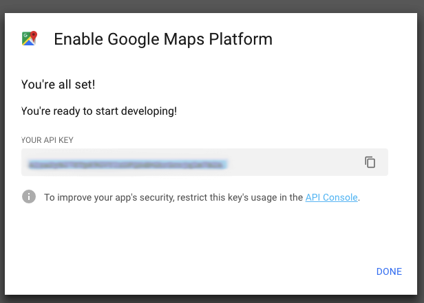 How do I obtain a Google Maps API Key? – SilkStart