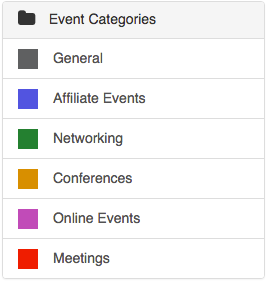 Category Events  >> How Do I Add Event Categories Silkstart